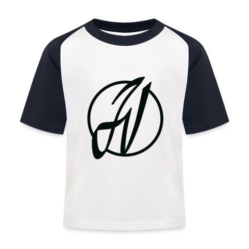 JV Guitars - logo noir - T-shirt baseball Enfant