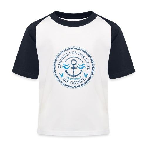 Ich bin ein Original von der Ostsee - Kinder Baseball T-Shirt