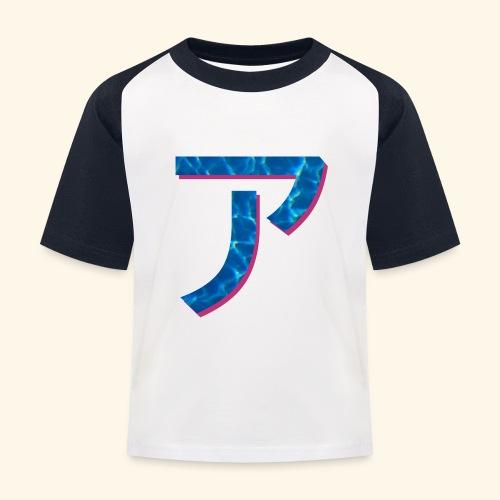 ア logo - T-shirt baseball Enfant