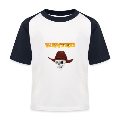WANTED AR - Camiseta béisbol niño