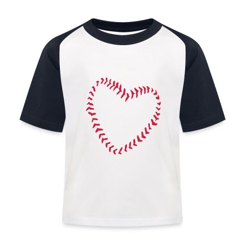 2581172 1029128891 Baseball Heart Of Seams - Kids' Baseball T-Shirt