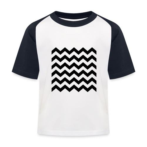 zigzag png - T-shirt baseball Enfant
