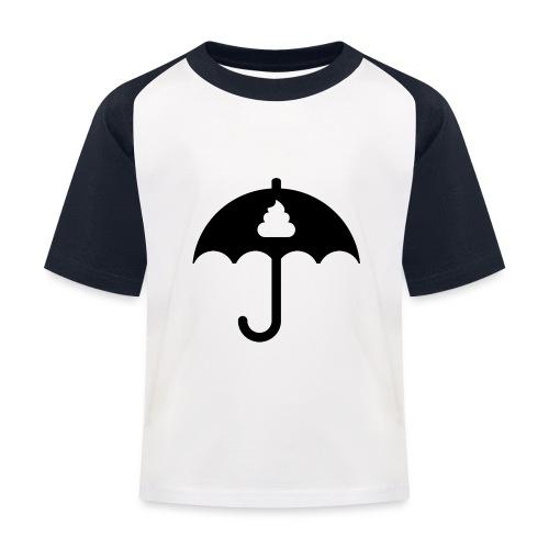Shit icon Black png - Kids' Baseball T-Shirt