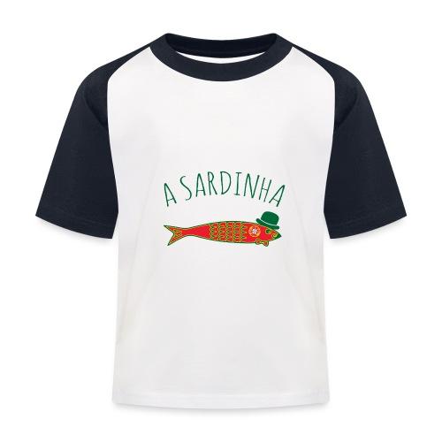A Sardinha - Bandeira - T-shirt baseball Enfant