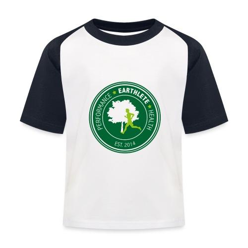 EARTHLETE Brand Logo - Baseball T-shirt til børn