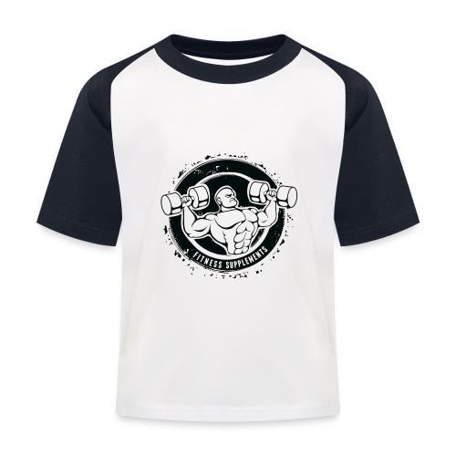 Fitness supplements - Baseball T-shirt til børn