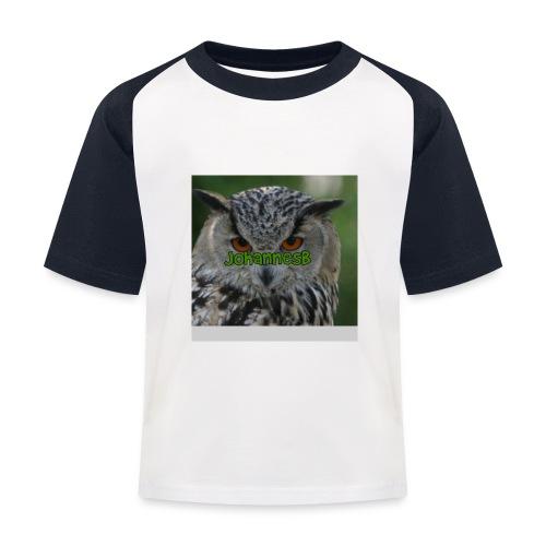 JohannesB lue - Baseball-T-skjorte for barn