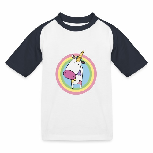MilkCorn - T-shirt baseball Enfant
