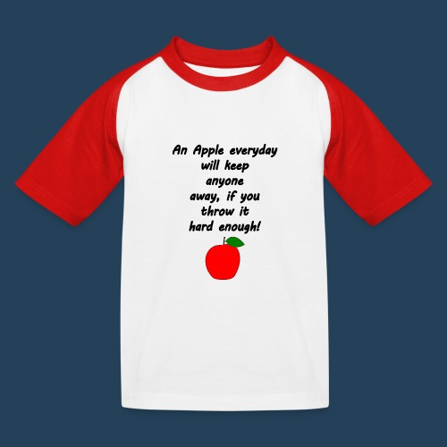 Apple Doctor - Kinder Baseball T-Shirt