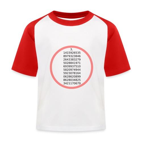 The number Pi - Lasten pesäpallo  -t-paita