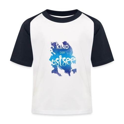 Kind der Ostsee - Kinder Baseball T-Shirt