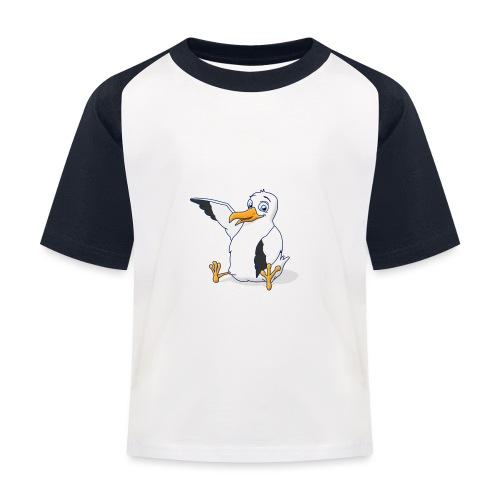 Möwi - Kinder Baseball T-Shirt