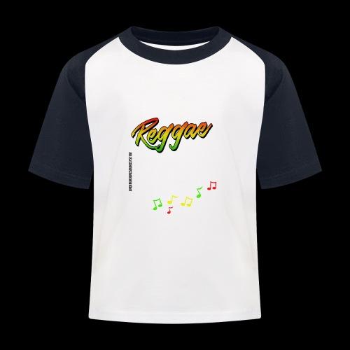 Reggae - Catch the Wave - Kinder Baseball T-Shirt