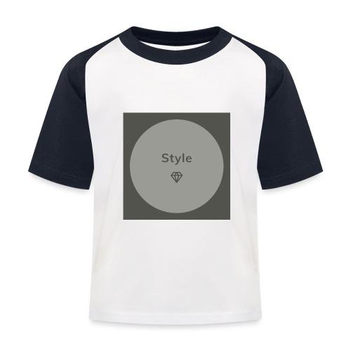 Style - Kinder Baseball T-Shirt