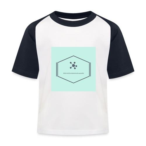 Ich bin nicht so dumm wie du aussiehst - Kinder Baseball T-Shirt