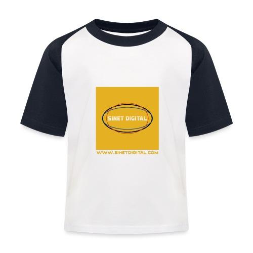 SINET DIGITAL - T-shirt baseball Enfant