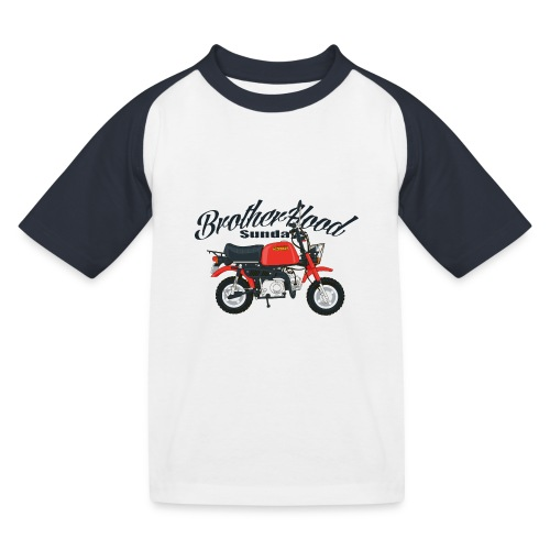 gorilla - T-shirt baseball Enfant