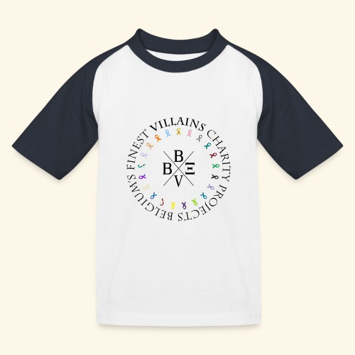 BVBE Charity Projects - Kids' Baseball T-Shirt