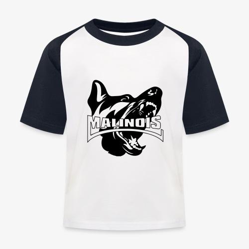 malinois - T-shirt baseball Enfant