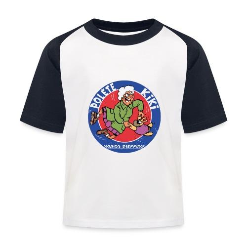 tshirt polete heros dieppois 2 - T-shirt baseball Enfant