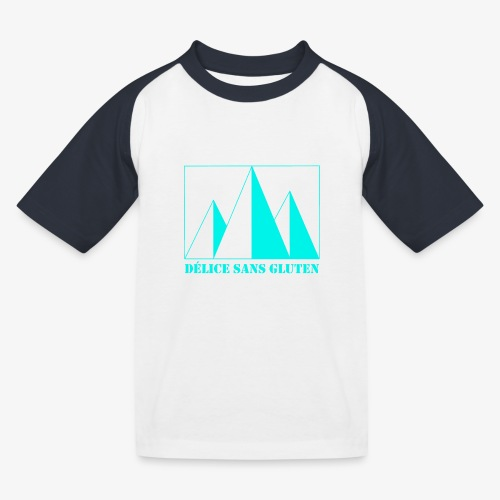 Snow Mountain ! Délice sans gluten - Kids' Baseball T-Shirt