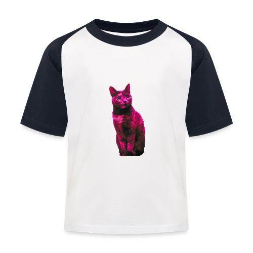 Gatto - Maglietta da baseball per bambini