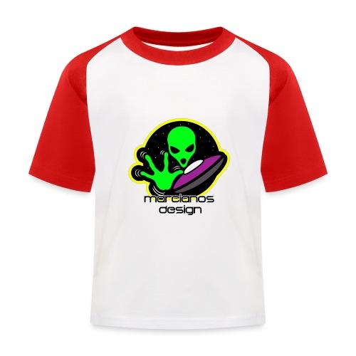 Logo Marcianos - Camiseta béisbol niño