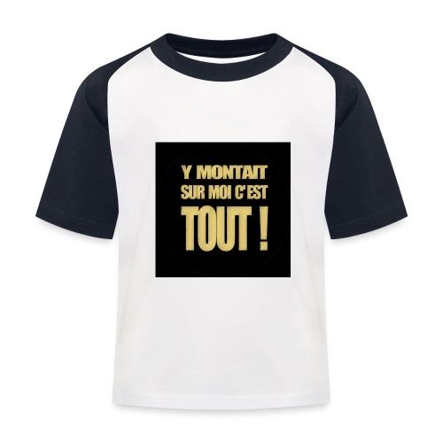 badgemontaitsurmoi - T-shirt baseball Enfant
