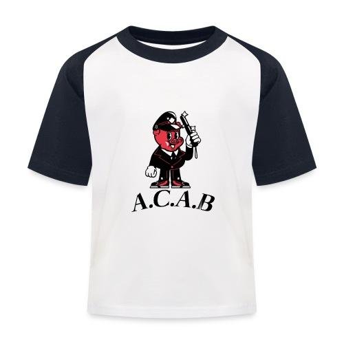 A.C.A.B cochon - T-shirt baseball Enfant