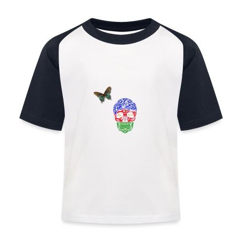LennyhjulRomaniFolketivitfjerliskulle - Baseboll-T-shirt barn