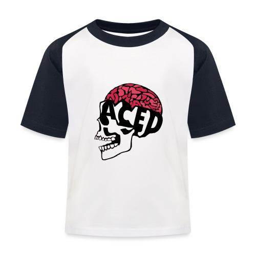 ACED clan - Kids' Baseball T-Shirt