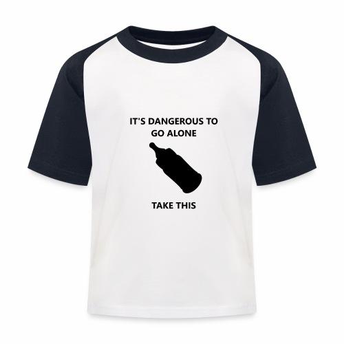 TTBabyBottle - Kids' Baseball T-Shirt