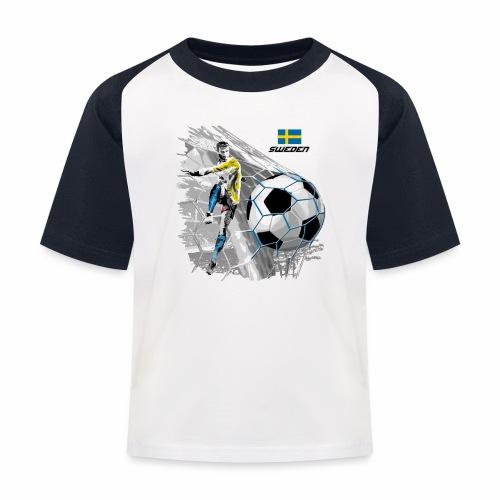 FP22F 16 SWEDEN FOOTBALL - Lasten pesäpallo  -t-paita