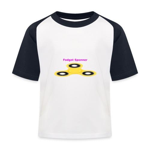 sponner - Baseball-T-skjorte for barn