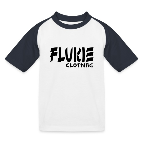 Flukie Clothing Japan Sharp Style - Kids' Baseball T-Shirt