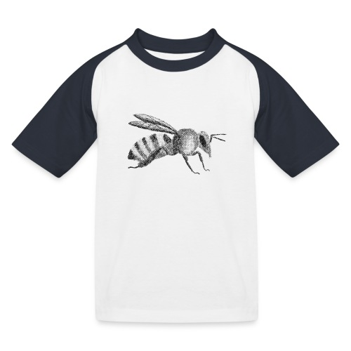 Biene - Kinder Baseball T-Shirt