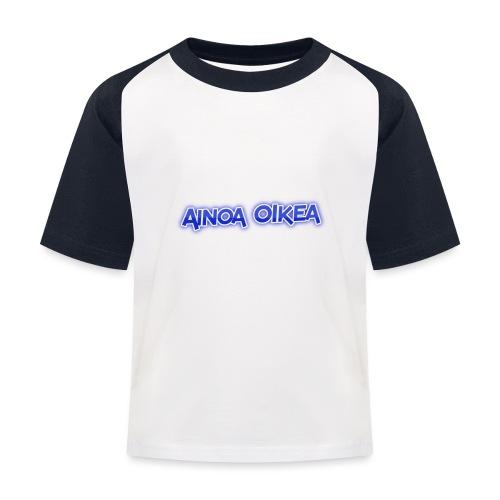 Ainoa oikea - Lasten pesäpallo  -t-paita