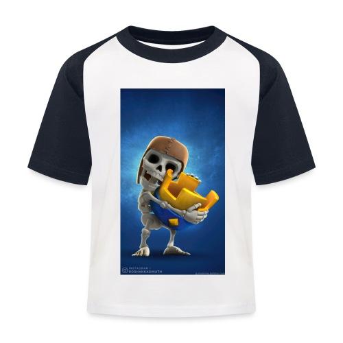 TheClashGamer t-shirt - Kinder Baseball T-Shirt