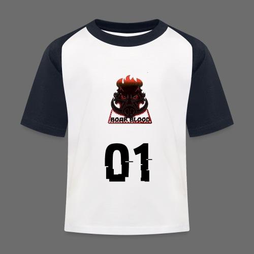 Boar blood 01 - Koszulka bejsbolowa dziecięca