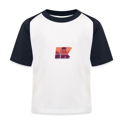 Ishaan Kulkarni Logo (1) - Kids' Baseball T-Shirt