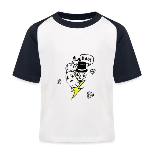 Boo! - Koszulka bejsbolowa dziecięca