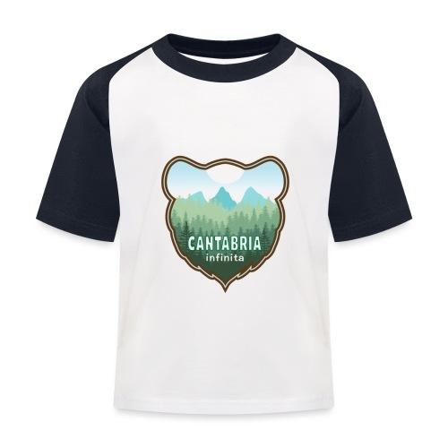 Oso en cantabria infinita - Camiseta béisbol niño