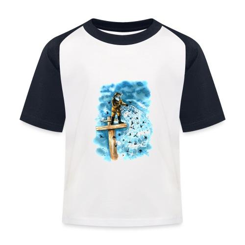after the storm - Kids' Baseball T-Shirt