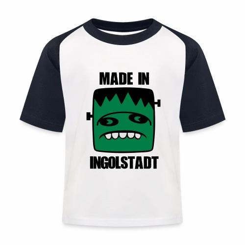 Fonster made in Ingolstadt - Kinder Baseball T-Shirt
