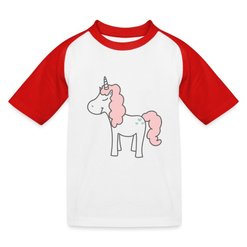 unicorn as we all want them - Baseball T-shirt til børn