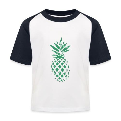Ananas vert - T-shirt baseball Enfant