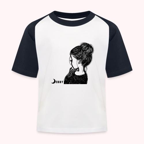 FALL BUN HAIR - 🍂COLLEZIONE AUTUNNALE by DEBBY🍁 - Maglietta da baseball per bambini