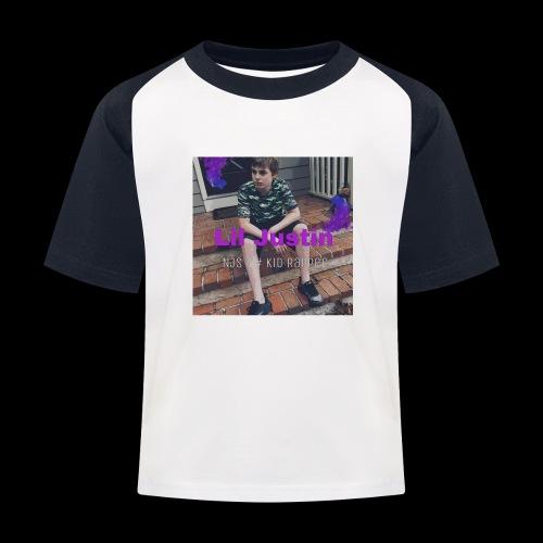 Lil Justin - Kids' Baseball T-Shirt