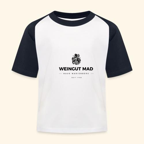 Weingut MAD - Kinder Baseball T-Shirt