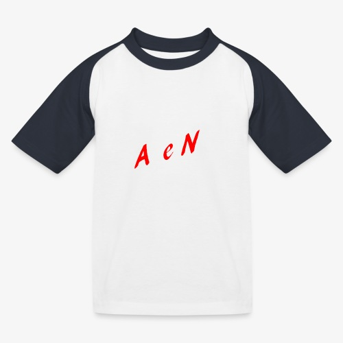 AxelNL - ROOD - Kinderen baseball T-shirt
